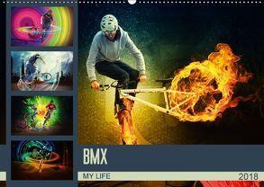 BMX My Life (Wandkalender 2018 DIN A2 quer) von Meutzner,  Dirk