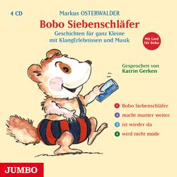 Bobo Siebenschläfer. Gesamtauflage von Gerken,  Katrin, Osterwalder,  Markus