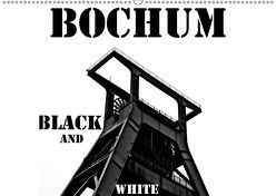 Bochum Black and White (Wandkalender 2019 DIN A2 quer)