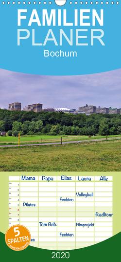 Bochum – Familienplaner hoch (Wandkalender 2020 , 21 cm x 45 cm, hoch) von Reschke,  Uwe