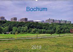 Bochum / Geburtstagskalender (Wandkalender 2019 DIN A2 quer) von Reschke,  Uwe