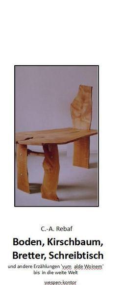 Boden, Kirschbaum, Bretter, Schreibtisch von Rebaf,  C.-A.