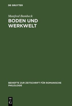 Boden und Werkwelt von Bambeck,  Manfred