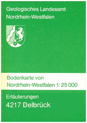 Bodenkarten von Nordrhein-Westfalen 1:25000 / Delbrück von Butzke,  Hartmut, Foerster,  Ekkehard, Mertens,  Hans