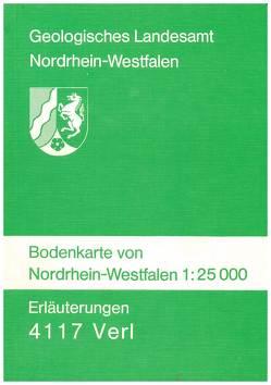 Bodenkarten von Nordrhein-Westfalen 1:25000 / Verl von Butzke,  Hartmut, Foerster,  Ekkehard, Mertens,  Hans