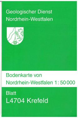 Bodenkarten von Nordrhein-Westfalen 1:50000 / Bodenkarten von Nordrhein-Westfalen 1 : 50000 von Mertens,  Hans, Paas,  Wilhelm, Roth,  Reinhold