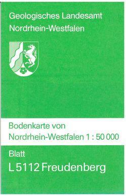 Bodenkarten von Nordrhein-Westfalen 1:50000 / Freudenberg von Wirth,  Werner