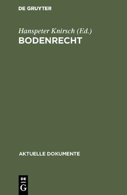 Bodenrecht von Knirsch,  Hanspeter