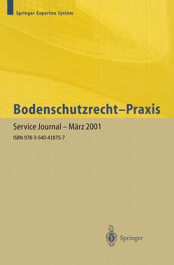Bodenschutzrecht — Praxis von Hofmann-Hoeppel,  J., Schumacher,  J., Wagner,  J.