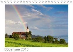 Bodensee 2018 (Tischkalender 2018 DIN A5 quer) von kalender365.com,  k.A.