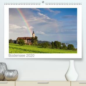 Bodensee 2020 (Premium, hochwertiger DIN A2 Wandkalender 2020, Kunstdruck in Hochglanz) von kalender365.com