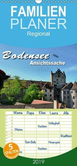 Bodensee – Ansichtssache – Familienplaner hoch (Wandkalender 2019 , 21 cm x 45 cm, hoch) von Bartruff,  Thomas