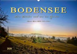"""Bodensee – """"Die Dörfer sind wie ein Garten …"""" (Rainer Maria Rilke) (Wandkalender 2020 DIN A2 quer) von Roder,  Peter"""