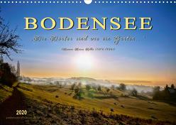 """Bodensee – """"Die Dörfer sind wie ein Garten …"""" (Rainer Maria Rilke) (Wandkalender 2020 DIN A3 quer) von Roder,  Peter"""