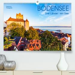 BODENSEE Drei Länder – ein See (Premium, hochwertiger DIN A2 Wandkalender 2021, Kunstdruck in Hochglanz) von Dieterich,  Werner