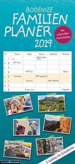 Bodensee Familienplaner 2019 von Fotografen,  verschiedene, Nagler,  Hildegard