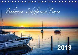 Bodensee-Schiffe und Boote (Tischkalender 2019 DIN A5 quer) von ap-photo,  k.A.