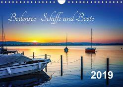 Bodensee-Schiffe und Boote (Wandkalender 2019 DIN A4 quer) von ap-photo,  k.A.