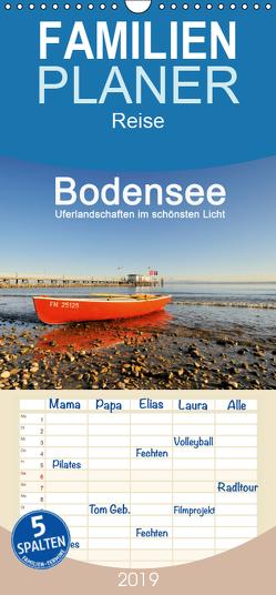 Bodensee – Uferlandschaften im schönsten Licht 2019 – Familienplaner hoch (Wandkalender 2019 , 21 cm x 45 cm, hoch) von Keller,  Markus