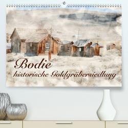Bodie – historische Golgräbersiedlung (Premium, hochwertiger DIN A2 Wandkalender 2020, Kunstdruck in Hochglanz) von Werner / Wernerimages,  Peter