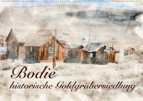 Bodie – historische Golgräbersiedlung (Wandkalender 2020 DIN A2 quer) von Werner / Wernerimages,  Peter
