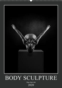 BODY SCULPTURE (Wandkalender 2020 DIN A2 hoch) von Jörg Leth,  Hans