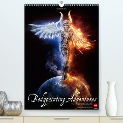 BODYPAINTING ADVENTURES (Premium, hochwertiger DIN A2 Wandkalender 2020, Kunstdruck in Hochglanz) von Fashion Studio,  Art