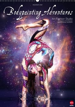 BODYPAINTING ADVENTURES (Wandkalender 2018 DIN A2 hoch) von Fashion Studio,  Art