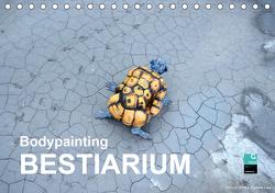 Bodypainting BESTIARIUM (Tischkalender 2021 DIN A5 quer) von fru.ch