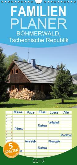 BÖHMERWALD, Tschechische Republik – Familienplaner hoch (Wandkalender 2019 , 21 cm x 45 cm, hoch) von Matheisl,  Willy