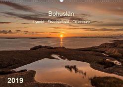 Bohuslän. Lysekil – Fiskebäckskil – Grundsund (Wandkalender 2019 DIN A2 quer) von Kolfenbach,  Klaus