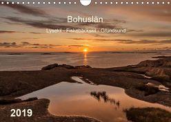 Bohuslän. Lysekil – Fiskebäckskil – Grundsund (Wandkalender 2019 DIN A4 quer) von Kolfenbach,  Klaus