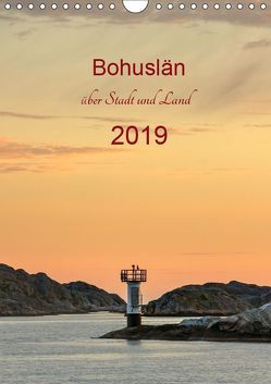 Bohuslän – über Stadt und Land (Wandkalender 2019 DIN A4 hoch) von Kolfenbach,  Klaus
