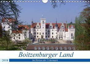 Boitzenburger Land – Im Herzen der Uckermark (Wandkalender 2018 DIN A4 quer) von Mellentin,  Andreas