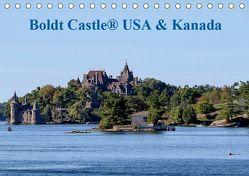 Boldt Castle ® USA und Kanada (Tischkalender 2019 DIN A5 quer)