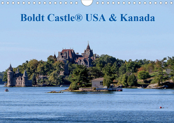 Boldt Castle ® USA und Kanada (Wandkalender 2021 DIN A4 quer) von Hoville,  Wido