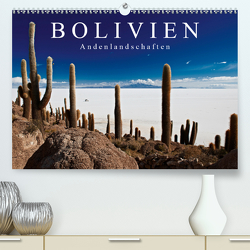 """Bolivien Andenlandschaften """"CH-Version"""" (Premium, hochwertiger DIN A2 Wandkalender 2020, Kunstdruck in Hochglanz) von Ritterbach,  Jürgen"""