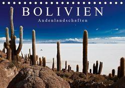 """Bolivien Andenlandschaften """"CH-Version"""" (Tischkalender 2019 DIN A5 quer) von Ritterbach,  Jürgen"""