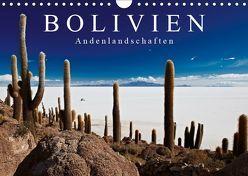 """Bolivien Andenlandschaften """"CH-Version"""" (Wandkalender 2019 DIN A4 quer)"""