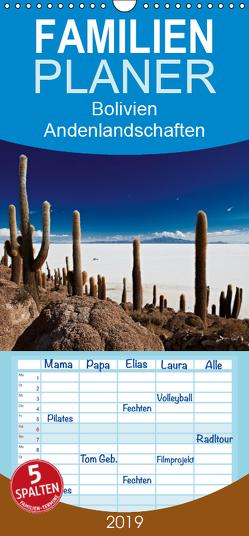 Bolivien Andenlandschaften – Familienplaner hoch (Wandkalender 2019 , 21 cm x 45 cm, hoch) von Ritterbach,  Jürgen