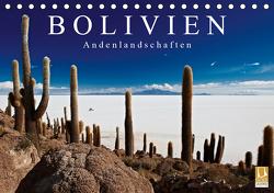 Bolivien Andenlandschaften (Tischkalender 2021 DIN A5 quer) von Ritterbach,  Jürgen