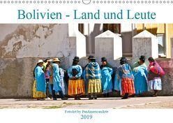 Bolivien – Land und Leute (Wandkalender 2019 DIN A3 quer) von Schäffer,  Michael
