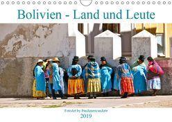 Bolivien – Land und Leute (Wandkalender 2019 DIN A4 quer) von Schäffer,  Michael