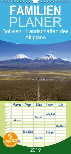 Bolivien – Landschaften des Altiplano – Familienplaner hoch (Wandkalender 2019 , 21 cm x 45 cm, hoch) von Knödler,  Stephan