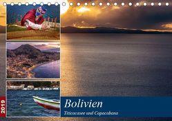 Bolivien – Titicacasee und Copacabana (Tischkalender 2019 DIN A5 quer) von Max Glaser,  Dr.