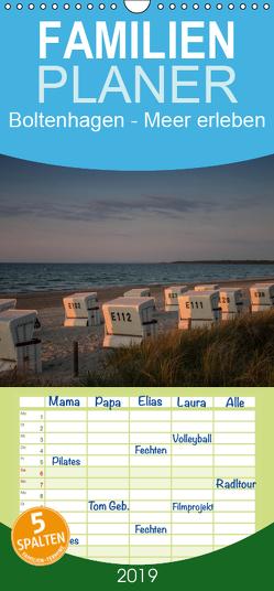 Boltenhagen – Meer erleben – Familienplaner hoch (Wandkalender 2019 , 21 cm x 45 cm, hoch) von Gruse,  Werner