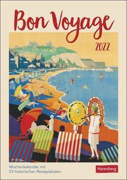 Bon Voyage Kalender 2022 von Harenberg