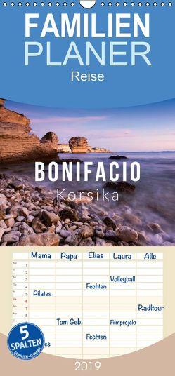 Bonifacio. Korsika – Familienplaner hoch (Wandkalender 2019 , 21 cm x 45 cm, hoch) von Gospodarek,  Mikolaj