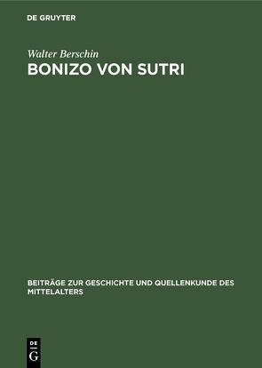 Bonizo von Sutri von Berschin,  Walter