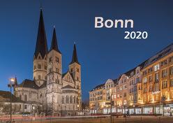 Bonn 2020 Bildkalender A3 quer, spiralgebunden von Klaes,  Holger
